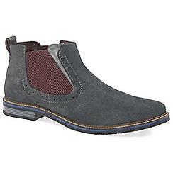 Bugatti - Grey 'Colorado' mens chelsea boots