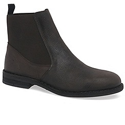 Fly London - Dark brown 'Wack' mens chelsea boots