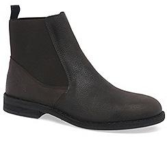 Fly London - Dark brown 'Wack' mens chelsea boots