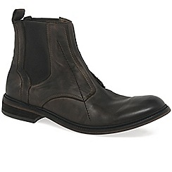 Fly London - Brown 'Helt' mens casual chelsea boots