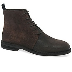 Fly London - Dark brown 'Wive' mens casual boots