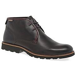 Pikolinos - Brown 'Garrow' Mens Casual Boots