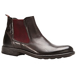 Camel Active - Dark brown 'Houston' Mens Formal Chelsea Boots