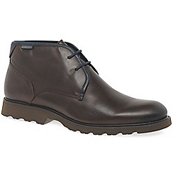Pikolinos - Brown leather 'Garrow II' ankle boots