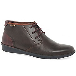 Pikolinos - Brown leather 'Arenas' casual ankle boots