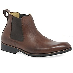 Anatomic & Co - Brown leather 'Peter' mens chelsea boots