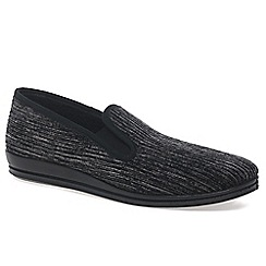 Rohde - Grey 'Cord' Mens Slippers