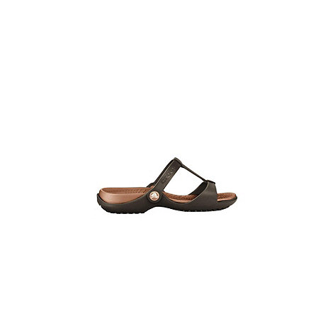 Crocs - Bronze +cleo iii+ ladies fashion mules 11216