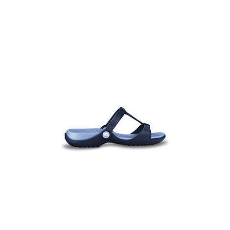 Crocs - Navy +cleo iii+ ladies fashion mules 11216