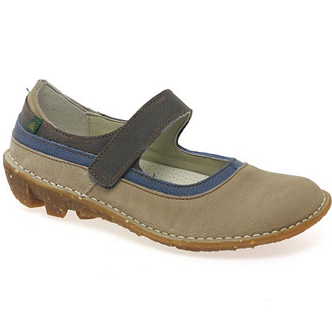 El Naturalista - Beige savia womens mary jane shoes