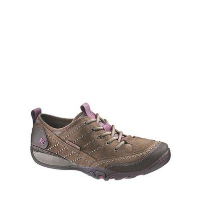 Merrell Brown 'Mimosa' Womens Lace Up Casual Shoes | Debenhams