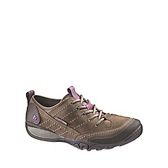 Merrell - Brown 'Mimosa' Womens Lace Up Casual Shoes