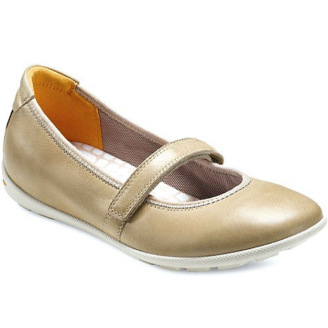 Ecco - Beige impulse womens casual shoes