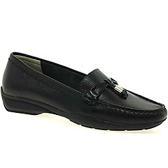 Maria Lya - Black 'toggle' womens casual shoes
