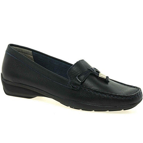Maria Lya - Navy +toggle+ womens casual shoes
