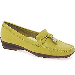 Maria Lya - Yellow 'Toggle' womens casual shoes