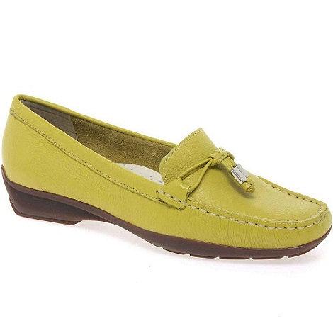 Maria Lya - Yellow +Toggle+ womens casual shoes