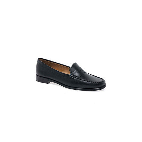 Maria Lya Black 'Donna II' womens casual slip on shoes