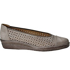 Gabor - Taupe heart womens casual shoes