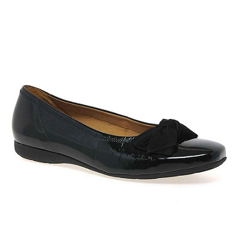 Gabor - Black patent +Latoya+ Women+s Casual Shoes