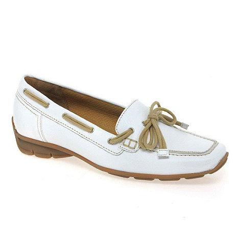 Gabor - White +obern+ womens casual shoes