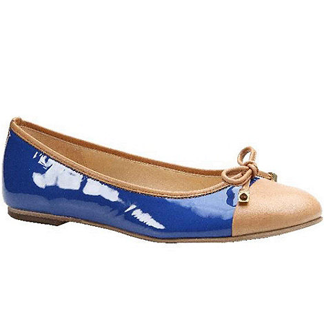 Gabor - Blue age womens patent casual shoes