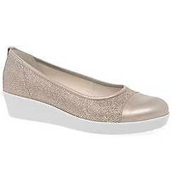 Gabor - Metallic 'Orient' womens casual shoes