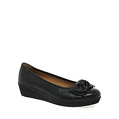 Gabor - Black haven womens casual slip on shoes