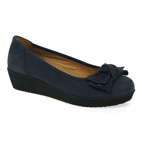 Gabor - Navy haven womens casual slip on shoes