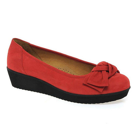 Gabor - Red haven womens casual slip on shoes