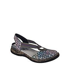 Rieker - Light blue 'Funky' Womens Closed Toe Casual Sandals