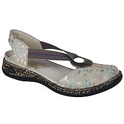 Rieker - Multi Coloured 'Funky' Womens Closed Toe Casual Sandals