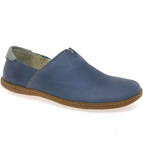 El Naturalista - Navy viajero womens casual slip on shoes