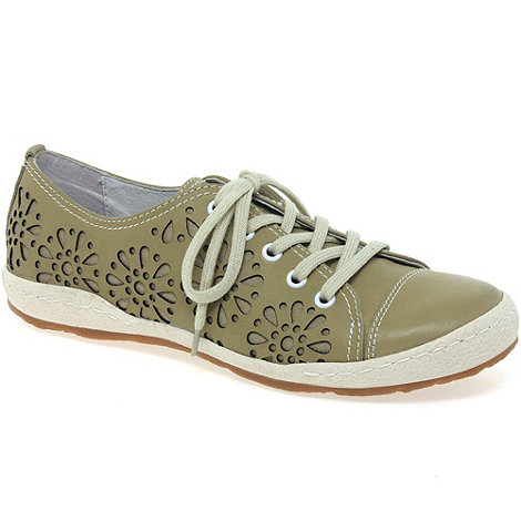 Josef Seibel - Grey +caspian laze+ womens lace up casual shoes