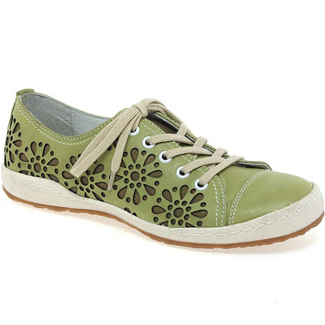 Josef Seibel - Green +caspian laze+ womens lace up casual shoes