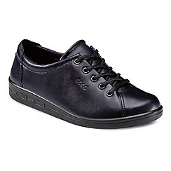Ecco - Navy Alsosoft Lace Up Casual Shoe