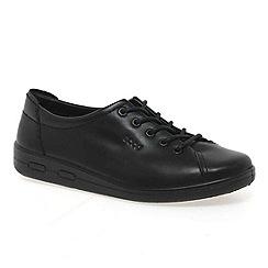 Ecco - Black Alsosoft Lace Up Casual Shoe