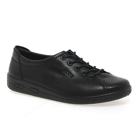 Ecco - Black Alsosoft Lace Up Casual Shoe