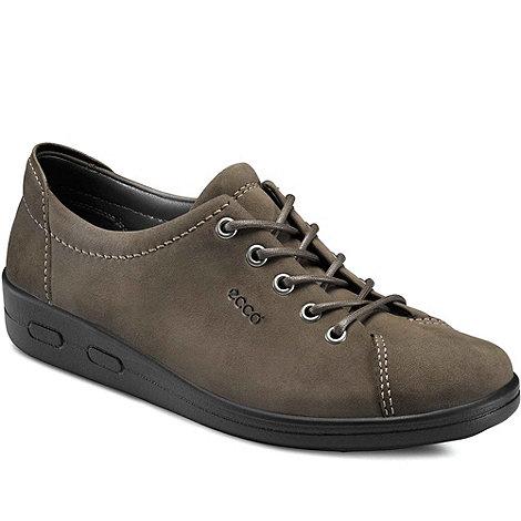 Ecco - Grey alsosoft lace up casual shoe 9473