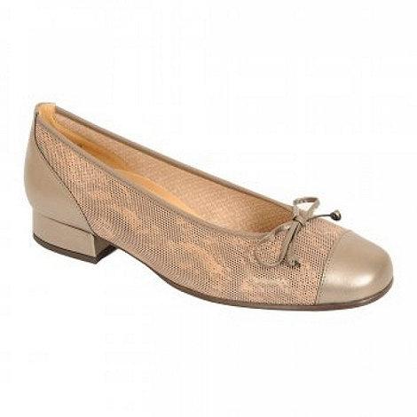 Gabor - Metallic +emporium+ wide fit shoes