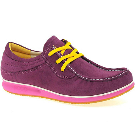 Ecco - Cerise +mind+ womens casual lace up shoes