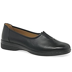 Gabor - Black 'Alice' wide fit casual shoes