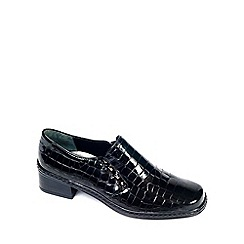 Gabor - Black Patent 'Hertha' Ii Casual Shoes
