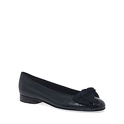 Gabor - Navy Amy Ballerina Pumps