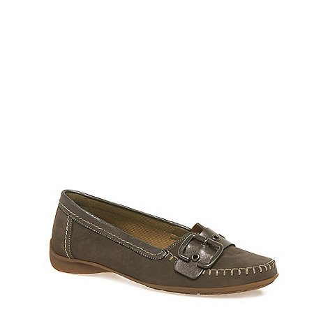Gabor - Grey Ascari Wide Fit Casual Shoes