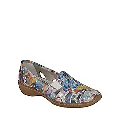 Rieker - Multi Coloured 'Denise' Slip On Vamp Shoes