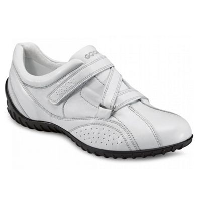White Ornament Casual Shoes