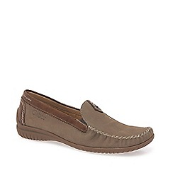 Gabor - Tan California Moccasins