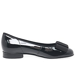 Gabor - Black 'Assist' ballerina shoes