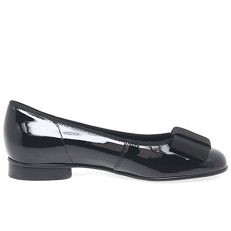 Gabor - Navy Assist Ballerina Shoes